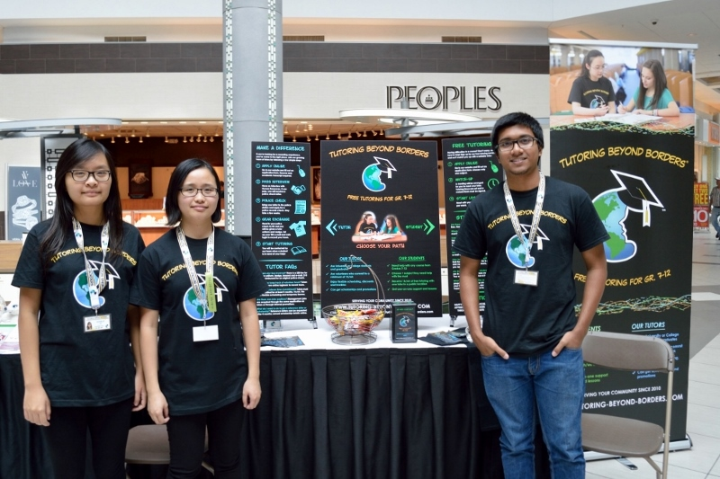 KWVAC Conestoga Mall Volunteer Fair (2014-09)